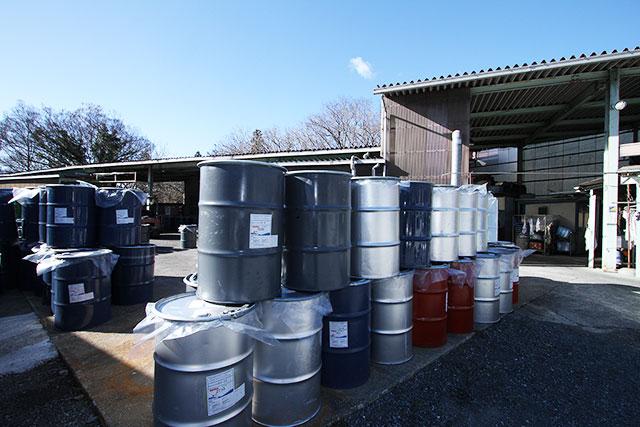 ドラム缶再生・容器洗浄事業