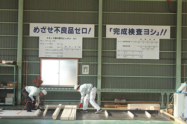 木製パレット製作・梱包業務請負事業